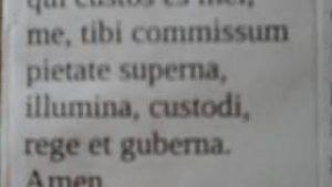 Oracion de Proteccion al Angel de la guarda Latin Y Español Angele Dei Curso Latin Iglesia Catolica