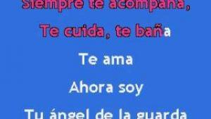 Karaoke Tu Angel De La Guarda Gloria Trevi