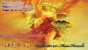💌MENSAJES DE LOS ÁNGELES PARA TI – DIGEON  – 09 de Octubre – Ángel de la Fortuna💌