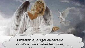 Oracion a tu angel de la guarda contra las malas lenguas,envidias,mal de ojo y brujerias